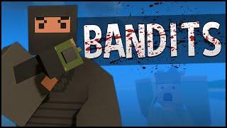 Unturned PvP Gameplay - BANDIT ROLEPLAY!
