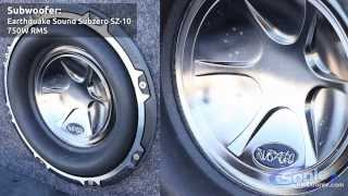 Earthquake SubZero Subwoofer Demo | SZ10 Bass Test
