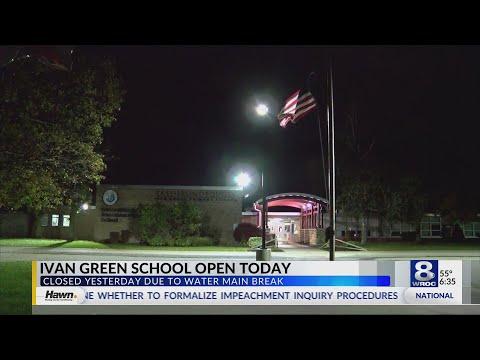 Ivan Green Primary School is back open