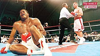 The scandalous confrontation of Riddick Bowe and Andrew Golota