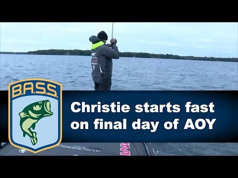 Jason Christie starts fast on final day of AOY Championship