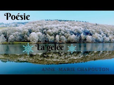 ☆☆☆ Poésie de Anne-Marie Chapouton ☆☆☆ La gelée  ☆☆☆