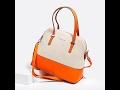 Классическая сумка David Jones 5073-1 orange beige