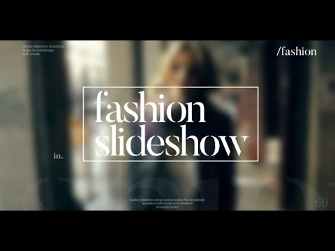 Fashion Slideshow ( After Effects Project Files ) ★ AE Templates