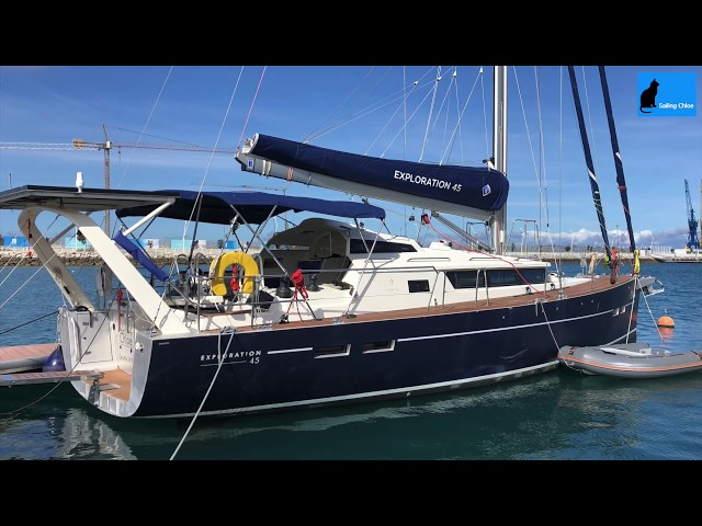 Sailing Chloe - Episode 45 : Modern Energy Systems for a Sailboat