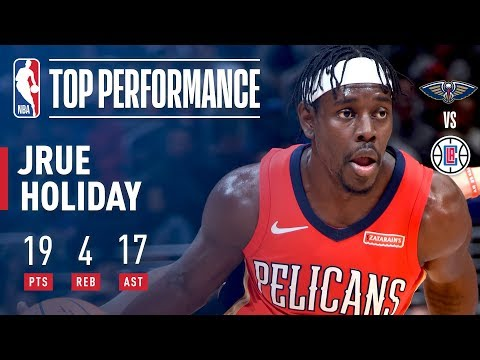Jrue Holiday Notches Career High 17 Assists vs The Clippers