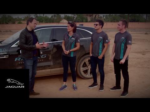 Panasonic Jaguar Racing   Adam Carroll vs Mitch Evans in Marrakesh