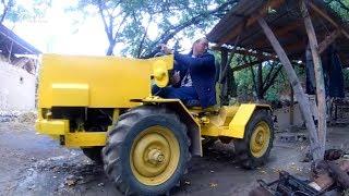 Баткендик электрик чакан трактор курады