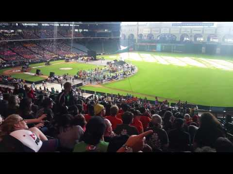 FIRST Robotics Competition Worlds 2017 @ Minute Maid Park Houston TX Energy Institute High School