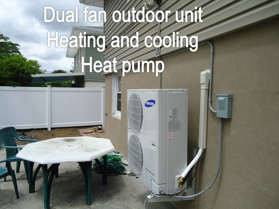 Samsung Aqv36ja 36 000 Btu Ductless Wall Mounted Heat Pump