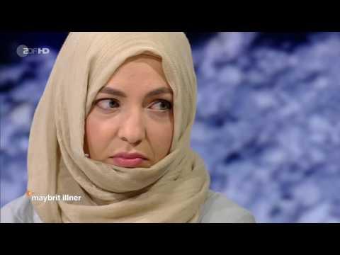 Deutsch: Ahmadiyya Muslim Khola Maryam Hübsch on maybrit illner show
