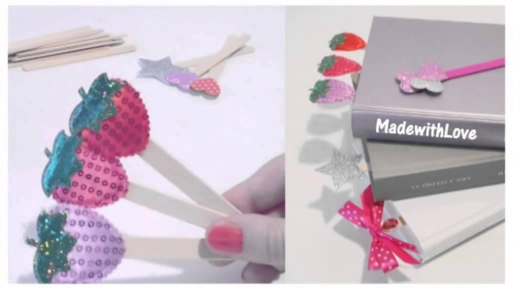 Risultati immagini per riciclare stecchi del gelato tutorial