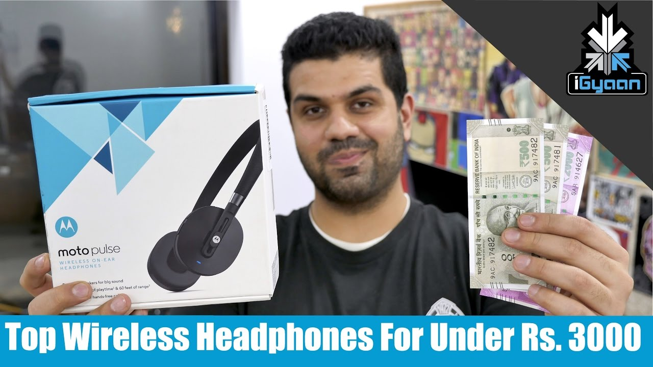 Top Wireless Headphones Under Rs 3000 Holiday Shopping Guide Youtube