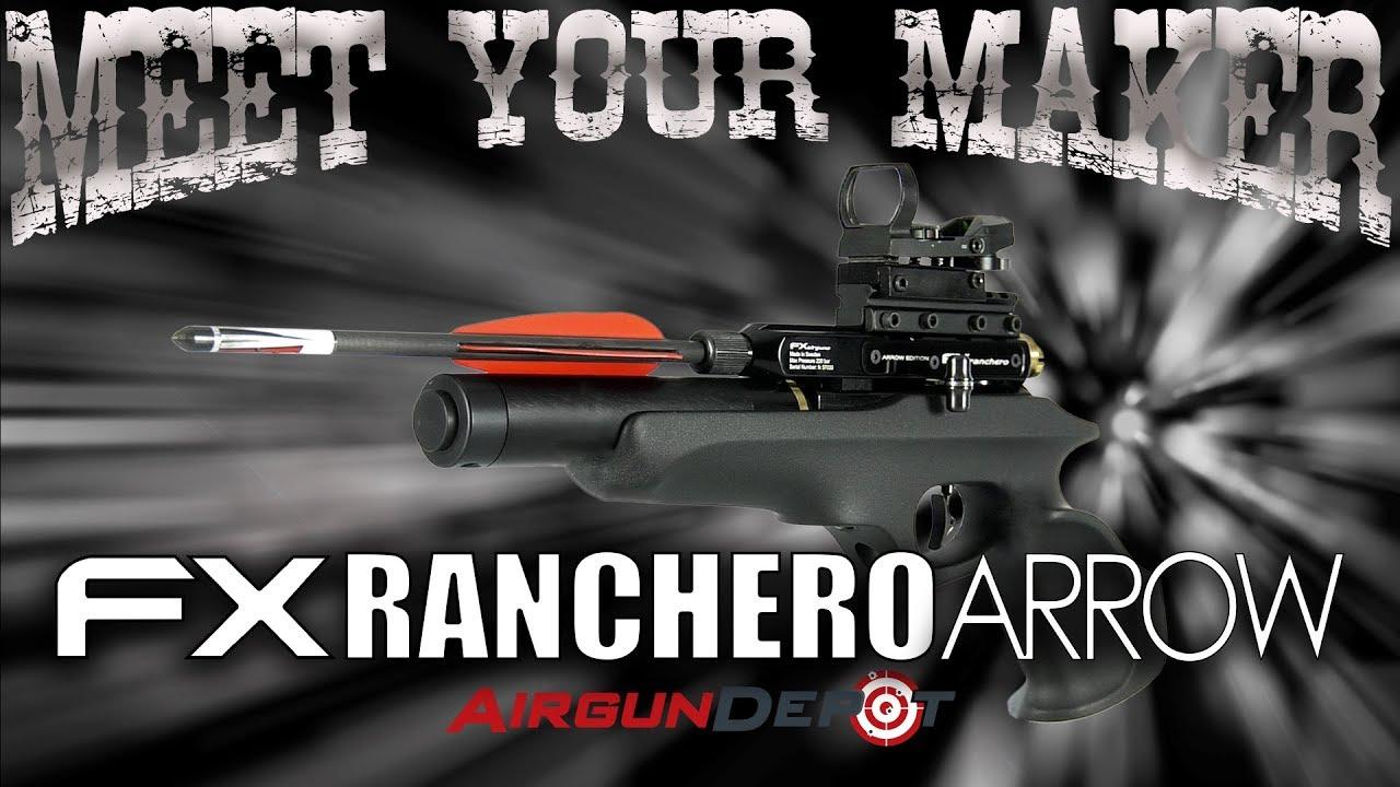 FX Ranchero Arrow, an Arrow-Shooting PCP Pistol!