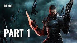 Mass Effect 3 - Demo Walkthrough #1   First Mission