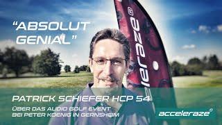 Audio Golf Event Feedback - HCP 54 Golfer