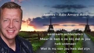 Jannes -  Adio Amore Adio