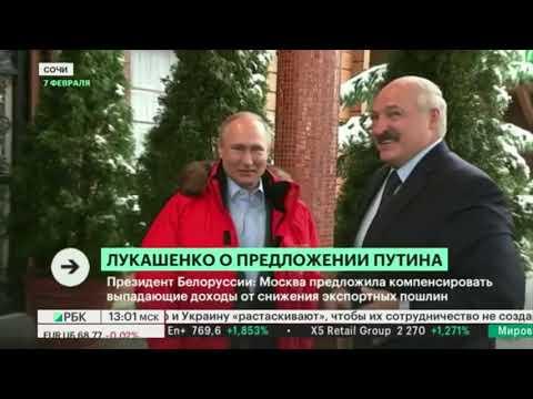 Компенсация до $300 млн. Лукашенко заявил о предложении Путина выплатить компенсацию