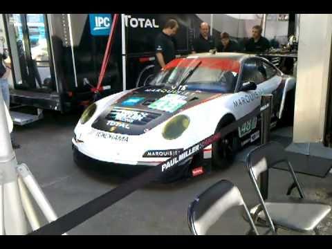 Paul Miller Racing Preps Porsche gt2
