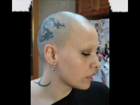 that woman shaved Bald