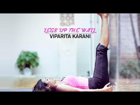 how to do legs up the wall  viparita karani  youtube