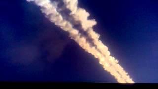 взрыв  метеорита над ЕманжелинскомЧелябинской обло
