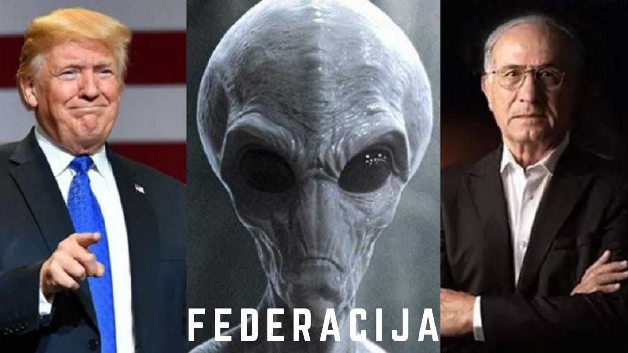 BIVŠI ŠEF IZRAELSKOG SVEMIRSKOG PROGRAMA: Donald Trump zna za galaktičku federaciju.
