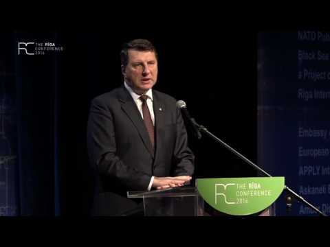 Welcoming remarks by the President of the Republic of Latvia Raimonds Vējonis