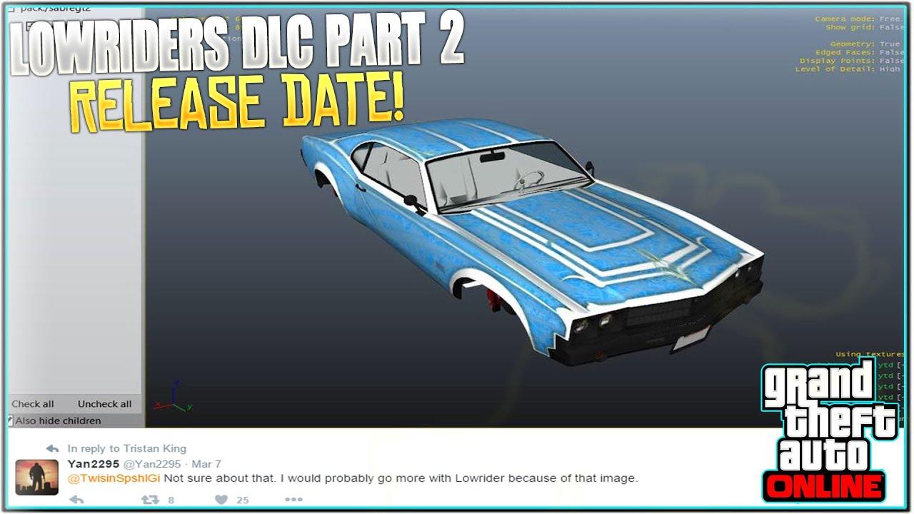 Gta 5 online dlc release date