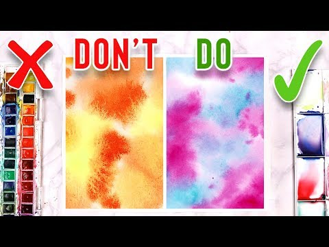 do's-&-don'ts-for-watercolor-painting---mistakes-to-avoid!