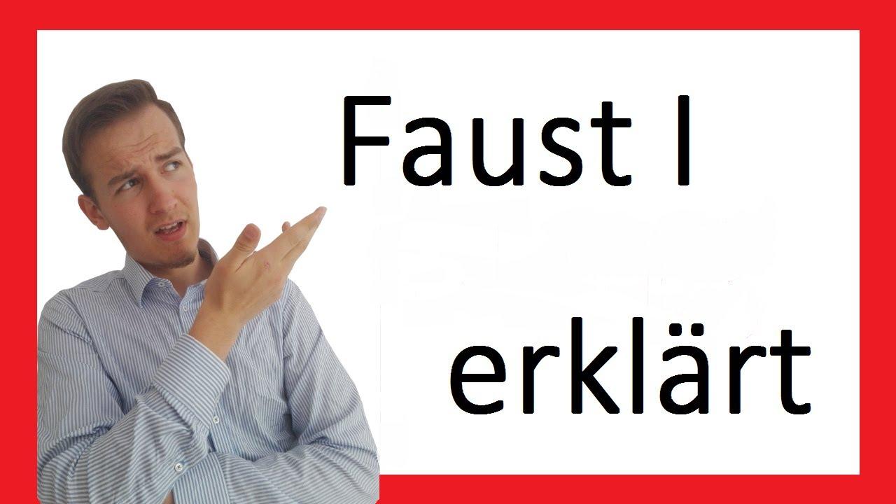 Faust I Inhalt Zusammenfassung Prosa Ii Youtube