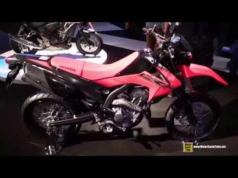 2015 Honda CRF250M - Walkaround - 2014 EICMA Milan Motorcycle Exhibition