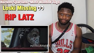 WHERE IS LOSKI ?! Harlem Spartans - Most Wanted Tugs [Music Video] | Link Up TV - REACTION