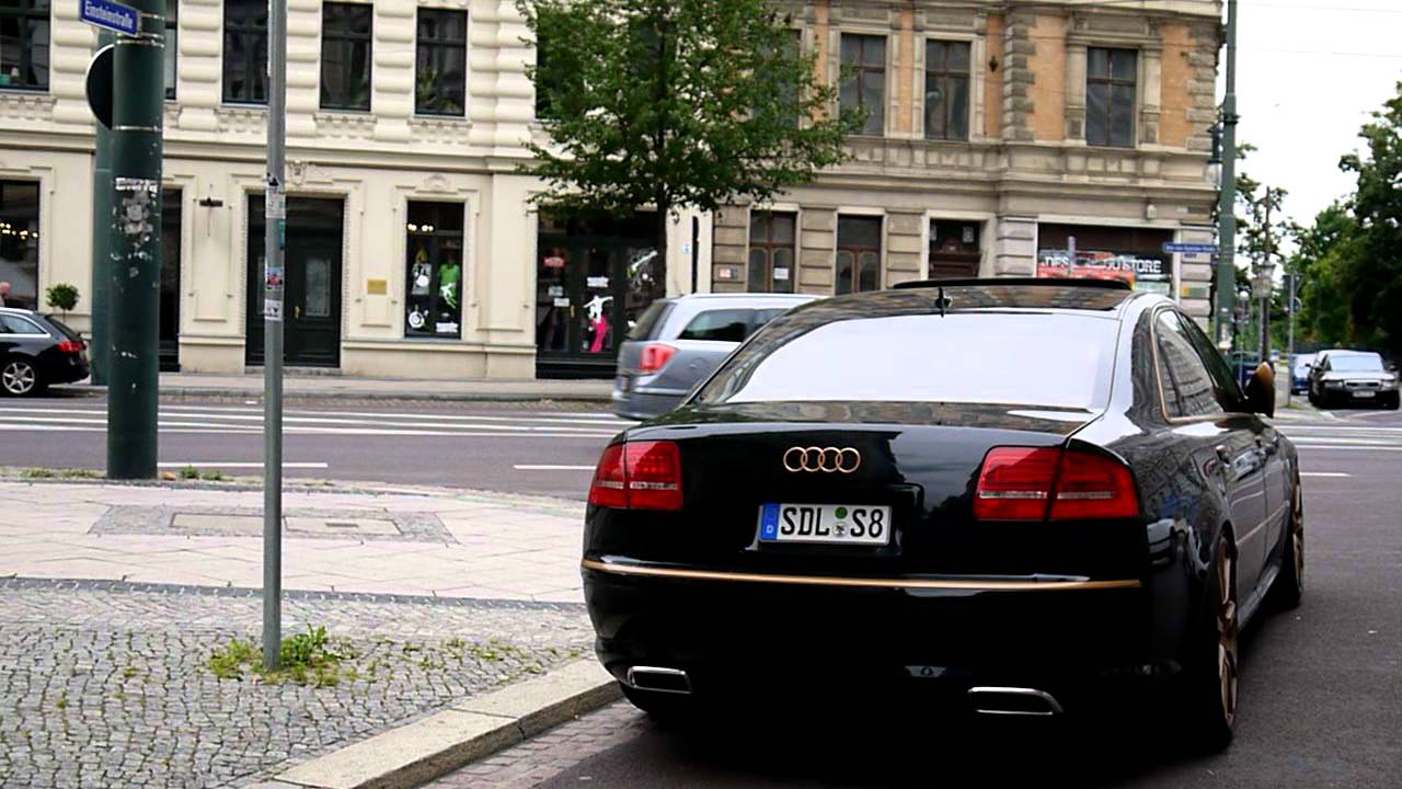 audi s8 w12 a8 exhaust tips by incarstyle youtube. Black Bedroom Furniture Sets. Home Design Ideas