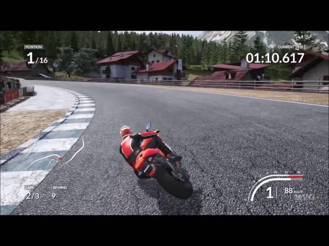 DUCATI - 90th Anniversary - Stelvio National Park | Gameplay (PC HD) [1080p60FPS]
