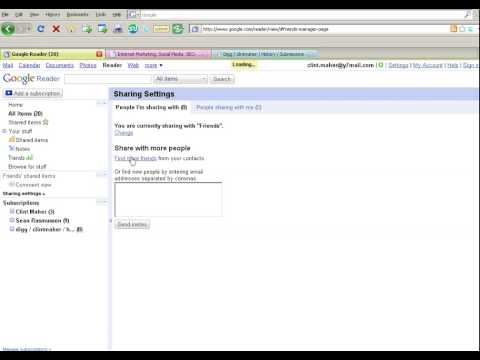 How To Use Google Reader 2( For SEO, Search Engine Optimisation)