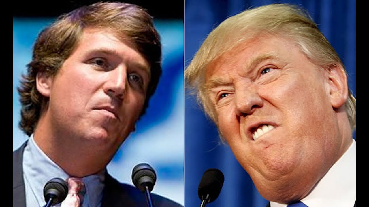 fox news tucker carlson to trump more fearmongering less twitter