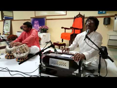 Ravi Raj sings for Kripa Montessori School