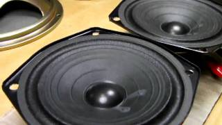 test Pioneer Speaker unit A12DC61-52F 12cm (Bass I Love You)