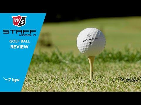 Wilson Staff Model R Golf Ball Review