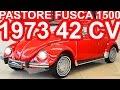 PASTORE Volkswagen Fusca 1500 1973 Vermelho MT4 RWD 42 cv 126 kmh 10,3 mkgf #Fusca