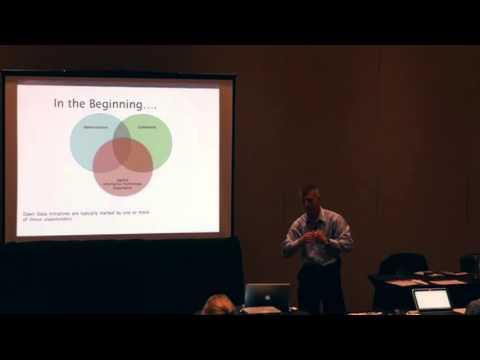 Mark Leech - Bootstrapping Your Open Data #NAGW2015