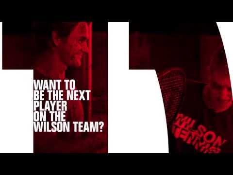 Wilson BE NEXT - Meet Roger Federer
