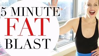 5 MINUTE FAT BLAST | TRACY CAMPOLI | CALORIE TORCHING WORKOUT