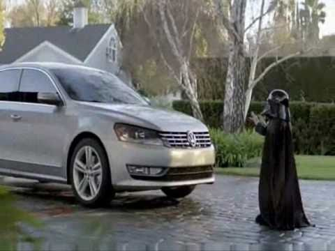 Volkswagen Commercial: The Force Star Wars Das Auto - YouTube