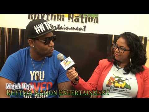 Majah Hype meets Rhythm Nation Entertainment