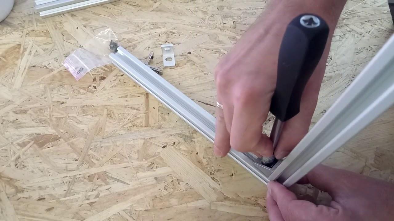 Góra Jak łączyć profile aluminiowe V-Slot - V-Slot Polska - YouTube WM98