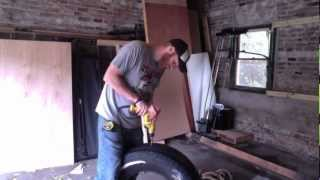The Cheap and Easy Tire Sled: Building your at home gym equipment.(In this video Kevin shows you how to make your own sled/prowler at home CHEAPLY. Find more on our website: http://www.ecofitmobile.com Also ..., 2012-10-25T21:09:50.000Z)
