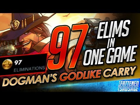 97 ELIMS IN ONE GAME!! Dogman Absolutely DESTROYS The Enemy!