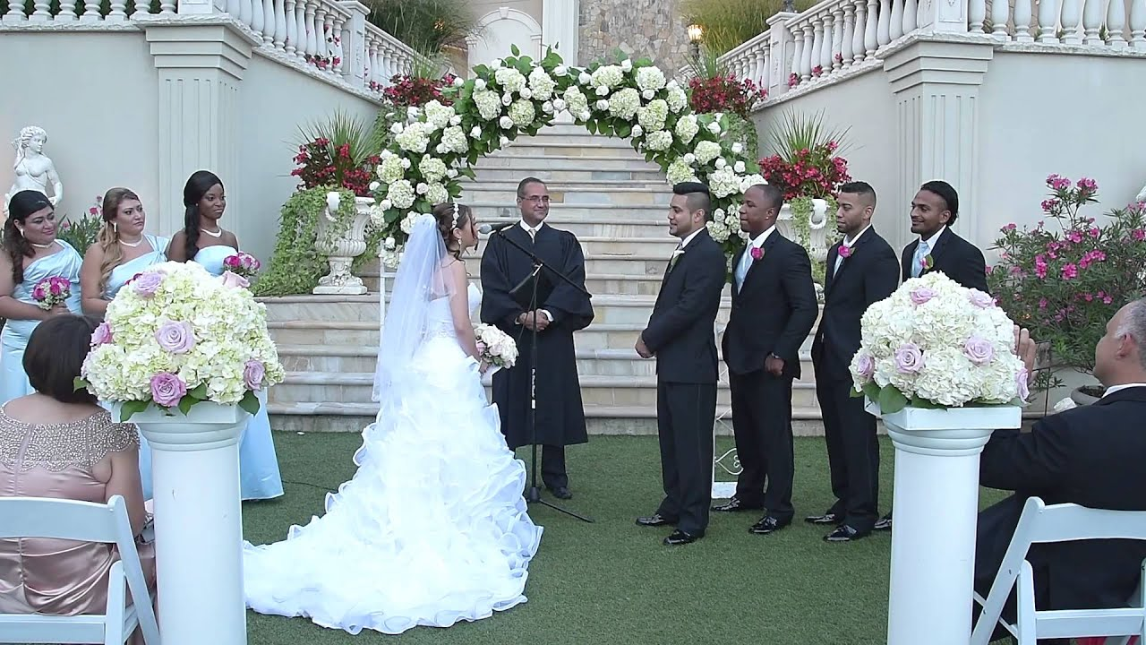 Wedding At Villa Barone Hilltop Manor 466 Route 6 Mahopac Ny 10541 By Alex Kaplan Photo Video Photob